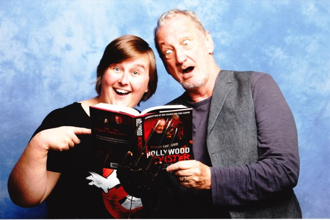 The legend that is Robert Englund!