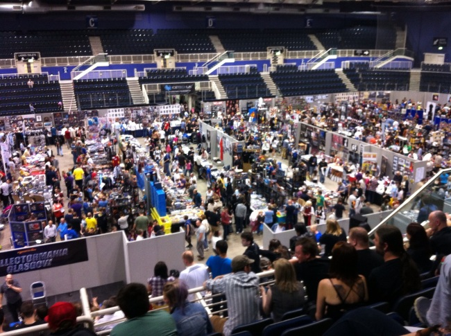 Collectormania Glasgow was mobbed!