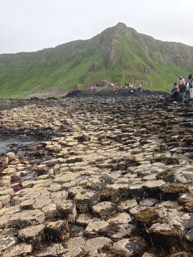 The Giant's Causeway (or a real life game of Knightmare)