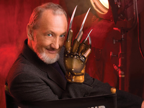 The legend that is Robert Englund AKA Freddy Krueger