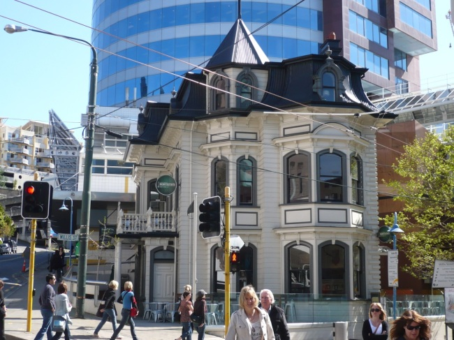 Cool old Wellington building