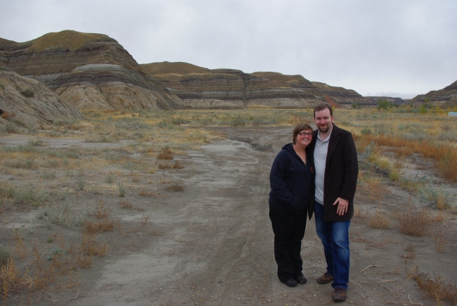 The scenery in Canada can feel like you are on another planet, this is Drumheller in Alberta