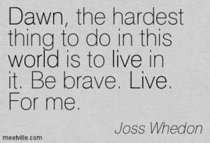 Joss Quote