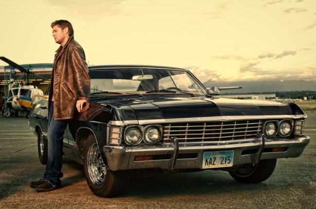 Dean with Impala