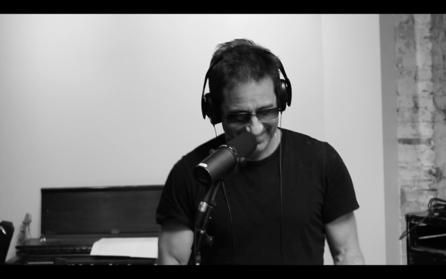 Duchovny the musician with his debut album, Hell or Highwater