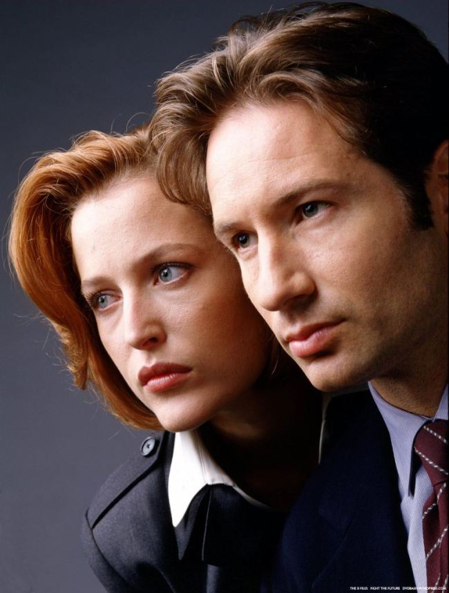 I wanted to BE both Mulder and Scully when I was a teenager