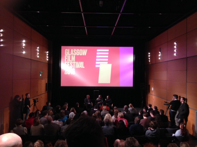 Another sold out event at Glasgow Film Festival