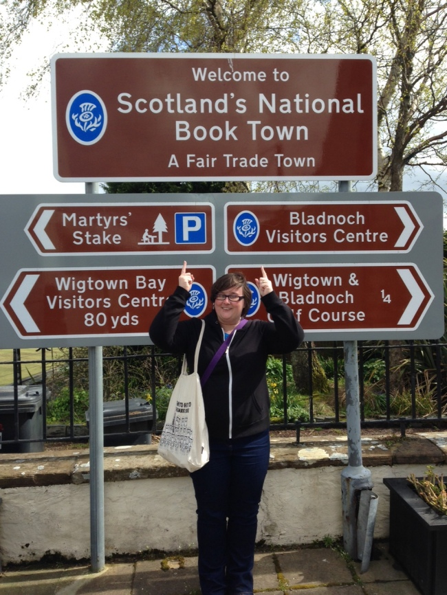 Wigtown Sign