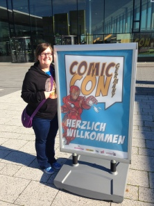 Outside Comic Con Germany